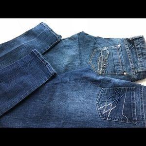 2 skinny jeans bundle.  Size 5.
